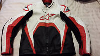 A* Tech1-R Leather Jacket 54/44 and Revit Campo Jean 33/34