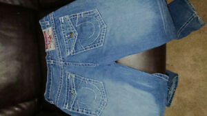 Mens True Religion Size 34 Joey Super T Jeans