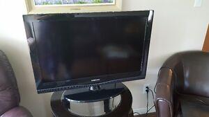 """36"""" flat HD TV"""