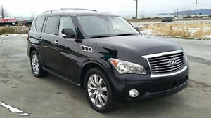 2011 Infiniti QX56 Technology package SUV, Crossover