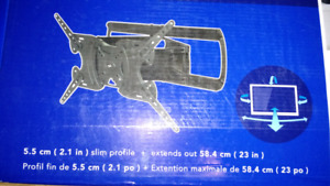 Support multiposition pour television
