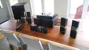 Surround Sound -Samsung AV Surround and Blu-ray Player
