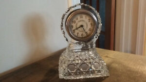 Beautiful Vintage Crystal Clock