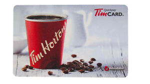 $40 Tim Hortons Gift Card - Open To Offers