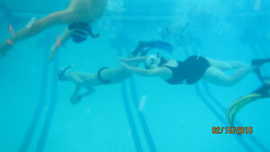 learn to snorkel, underwater football
