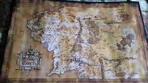 Lord of the Rings Middle Earth Poster!