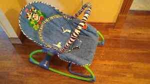 Chaise vibrante