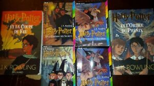 HARRY POTTER BOOKS IN FRENCH