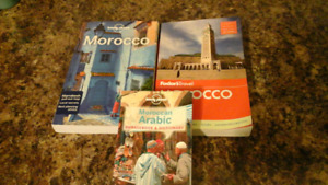 Lonely Planet/Fodors Travel MOROCCO  + Arabic Phrasebook