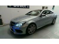 ** 2016 Mercedes E220Cdi AMG Line Edition 2Dr Coupe in Diamond Silver ONLY 37k