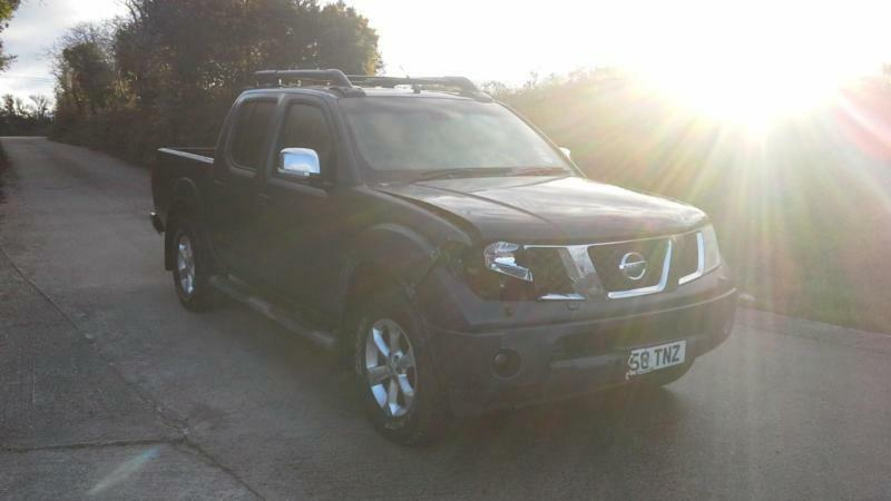 2008 Nissan Navara 2.5dCi Expedition DAMAGED SPARES OR REPAIR SALVAGE