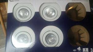 4 NEW recessed ceiling lights