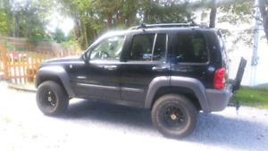 Lifted 2005 jeep liberty