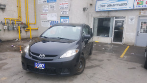 2007 MAZDA5 MINI VAN LOADED LOW KM 131KM