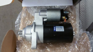 BRAND new 1999-2005 mk4 starter in the box. is for a manual tran