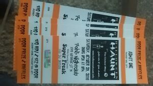 Halloween Haunt 4 tickets Peterborough Peterborough Area image 1