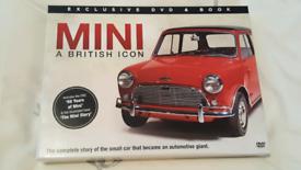 Classic car Mini DVD and book
