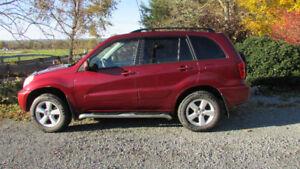 2004 Toyota Rav-4 For Sale