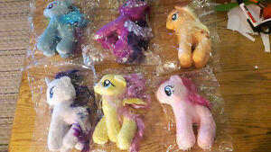 NEW My Little Pony Plush Characters (6 different ones)