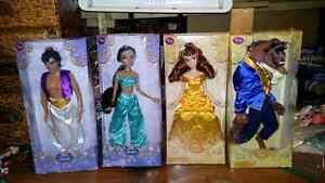 DISNEY STORE  12 INCH FIGURES  ALL 4   25.00