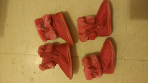 Infant Toddler Boots Size 4