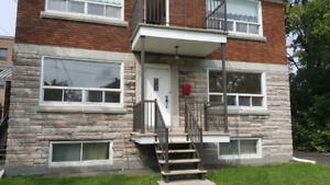 Large 5 1/2 with basement for rent in Lachine.
