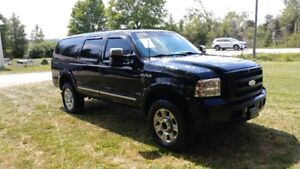 2005 Ford Excursion Diesel 4X4 Limited