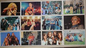 "60's and 70's Rock Stars Trading Cards FIGURINE PANINI ""POP STAR"