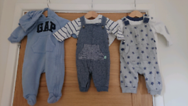 3 baby boy outfits age 0-3months