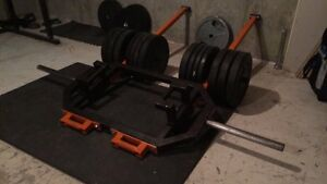 Hex trap barbell multi-purpose - Super VIKING press  West Island Greater Montréal image 7