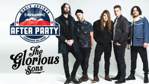 The Glorious Sons @ The Commodore (x2) - $60