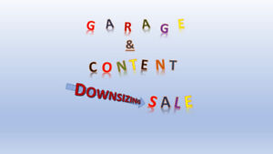 DOWNSIZING to CONDO: Garage & Content Sale