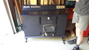 Dovetec corn stove