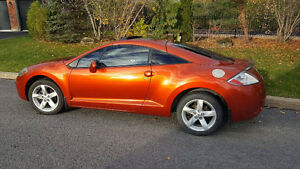 2007 Mitsubishi Eclipse Orange FULL Coupé (2 portes) 139000 KM