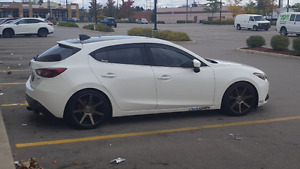 2014 MAZDA 3 GT HATCHBACK FOR SALE AS IS