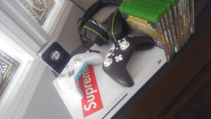 Xbox one s games and controllers
