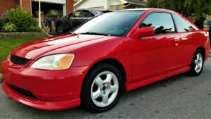 MOVING! MUST SELL! 2003 Honda Civic  - Super Clean / Low KMs