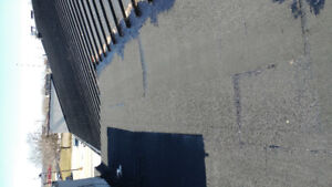 Metal roofing shingles and flat roofs