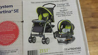 Brand new car seat and stroller set brand new in the box