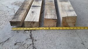 Reclaimed Hardwood Dunnage Beams
