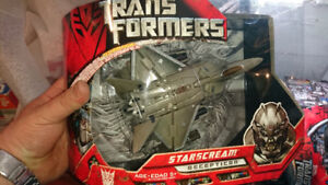 Transformers Movie Starscream Voyager MISB