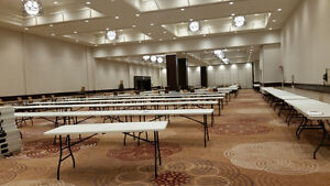Tables, Chairs, Heater+ Rental