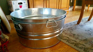 METAL WASH TUBS FOR SALE