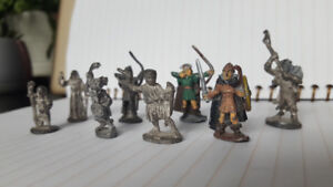 Dungeons and Dragons Vintage Miniatures