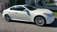 2008 Infiniti G37s Sport Coupe (2 door) Pearl  1 TAX