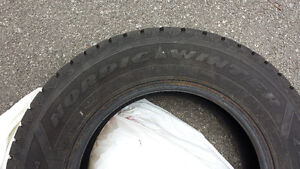 4x like New Winter Tires at a discounted Price! West Island Greater Montréal image 2
