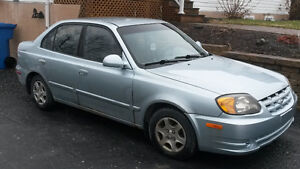 2003 Hyundai Accent GL Berline