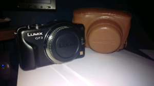 Appareil photo Panasonic Lumix GF3 pour lentille interchangeable