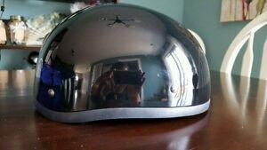 Moped or motorcycle helmet