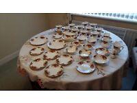 52 piece China tea set